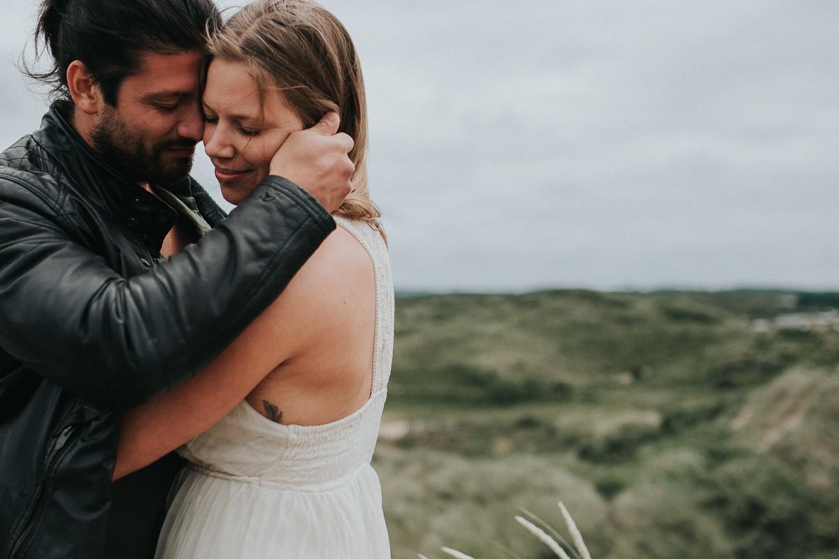 loveshoot in de duinen bij bloemendaal
