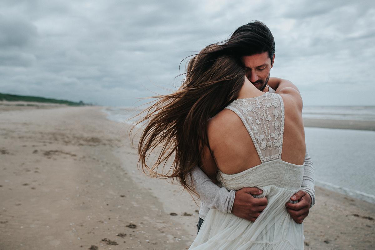 loveshoot op het strand van bloemendaal