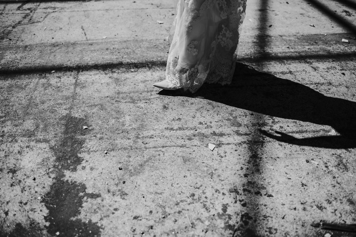 detailfoto bruid